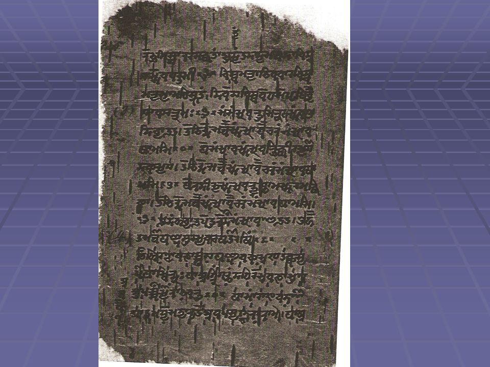 Antik Hindistan Tıbbı Charaka Samhita / Sushruta Samhita Her ikisi Naturalistik Hint tıbbının ana kaynağıdır.
