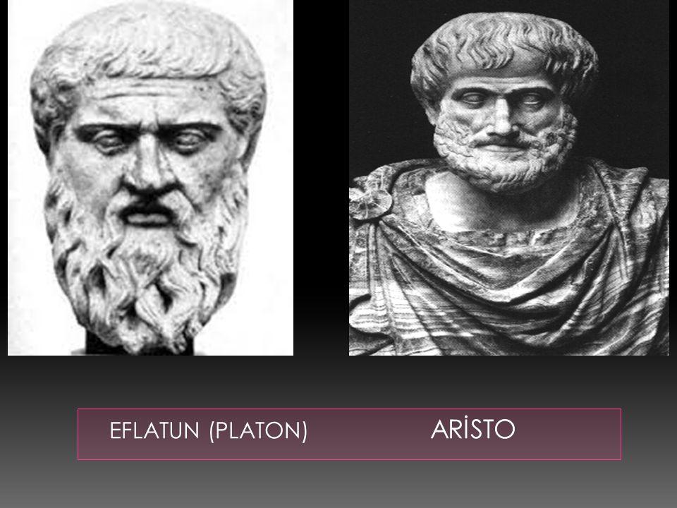 EFLATUN (PLATON) ARİSTO