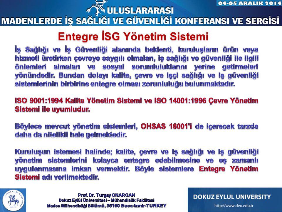 Entegre İSG Yönetim Sistemi
