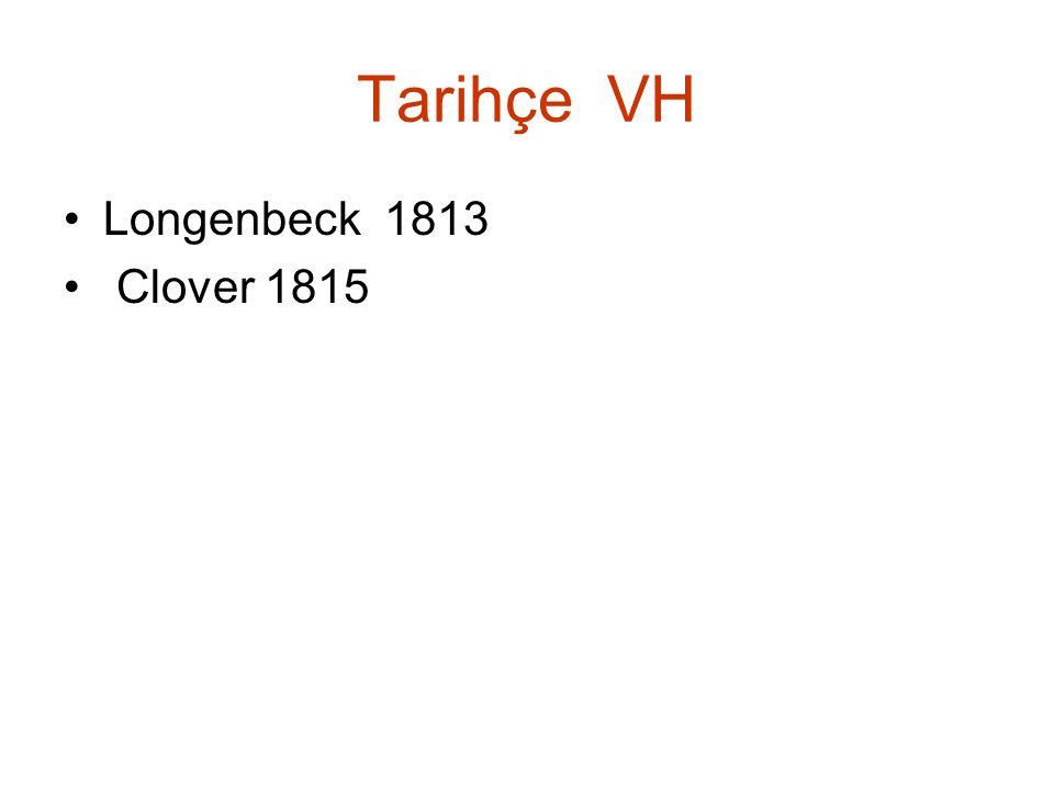Tarihçe VH Longenbeck 1813 Clover 1815