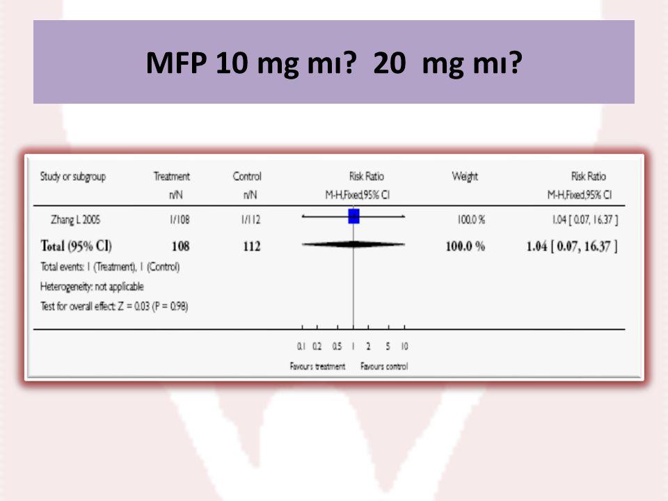 MFP 10 mg mı? 20 mg mı?