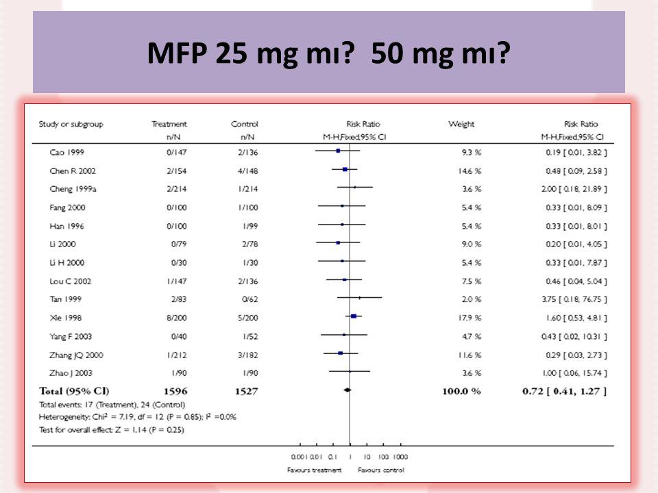 MFP 25 mg mı? 50 mg mı?