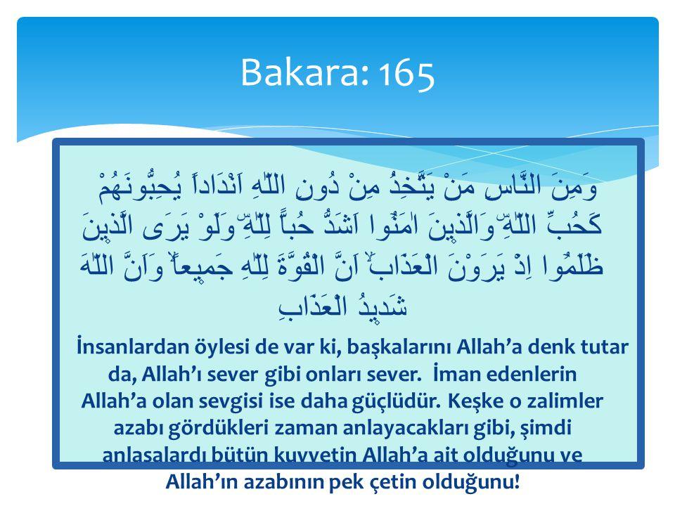  O gün Allah onlara Haydi, Bana ortak olduklarını iddia ettiğiniz şeylere seslenin buyurur.