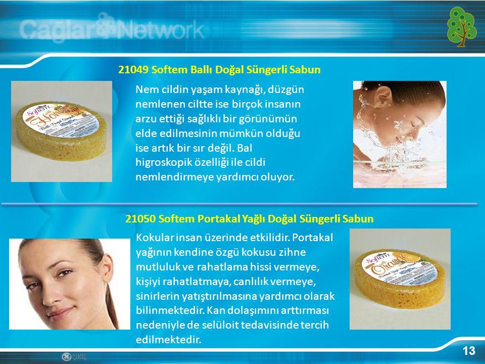 13 21049 Softem Ballı Doğal Süngerli Sabun Nem cildin yaşam kaynağı, düzgün nemlenen ciltte ise birçok insanın arzu ettiği sağlıklı bir görünümün elde