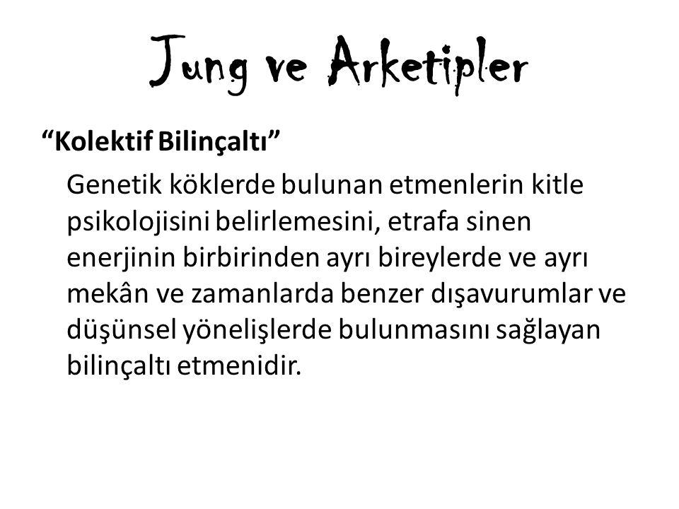 Jung'a göre beynimizde atalarımızdan kalma tasarımlardır.