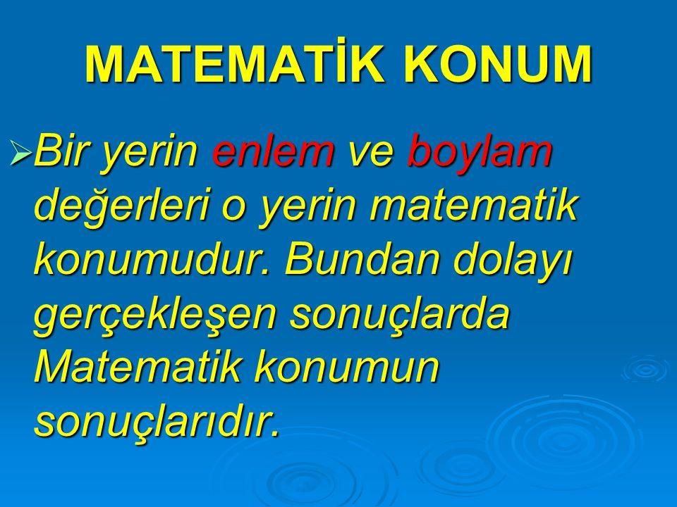 Türkiye'de Ağustos ayında kar yağması için aşağıdakilerden hangisinin olması gereklidir.