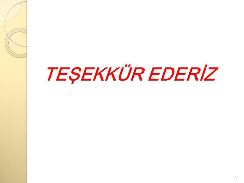 TEŞEKKÜR EDERİZ 27