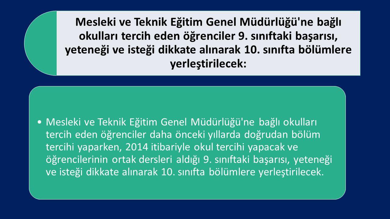 Anadolu öğretmen liseleri, sosyal bilimler, fen ve Anadolu liselerine dönüştürülecek: Anadolu öğretmen liseleri, sosyal bilimler, fen ve Anadolu liselerine dönüştürülecek.