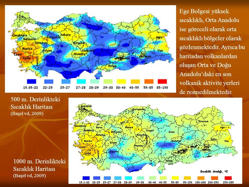Batı Anadolu'daki jeotermal sistemler genelde yüksek sıcaklığa sahip olup, açılma tektoniğine bağlı olarak grabenlerde yer alırlar.
