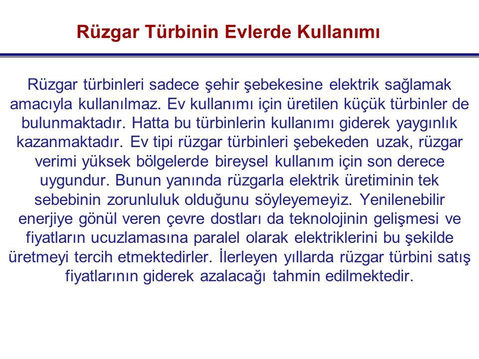 Alize Germiyan ( 1,5 MW ) İzmir Alaçatı'da taştan yapılan ve buğday yapımında kullanılan yel değirmenlerinin yani rüzgarın çok büyük bir önem taşıdığı hatta 1700'lü yıllarda güzelliğinin yanısıra rüzgar nedeni ile savaşların bile yaşandığı söylenmektedir.