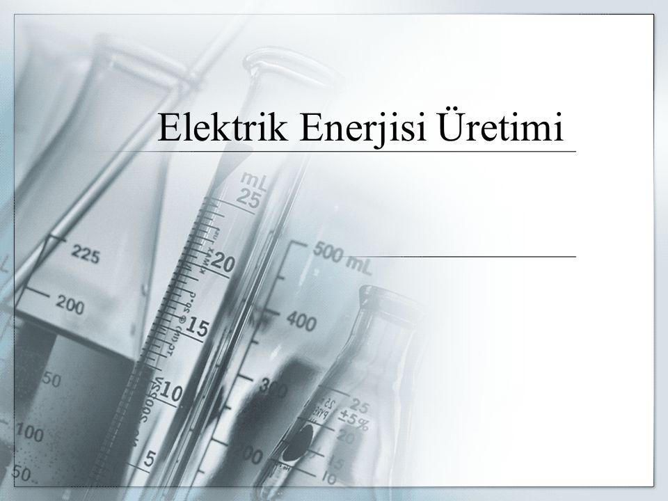 ELEKTRİK SANTRALLERİ Enerji Üretiminde Kullanılan Kaynaklar Elektrik enerjisini elde etmek için çeşitli enerji kaynakları kullanılır.