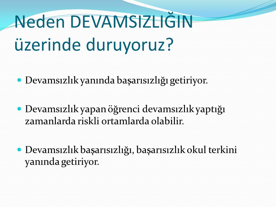 ORTAÖĞRETİM KURUMLARI 20 GÜN ÜZERİ DEVAMSIZLIKLAR 03.12.2012 İLÇELERTÜM SINIFLAR9.