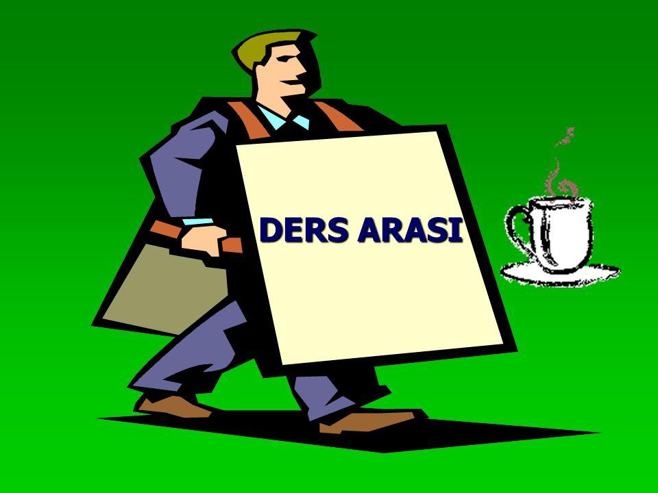 DERS ARASI