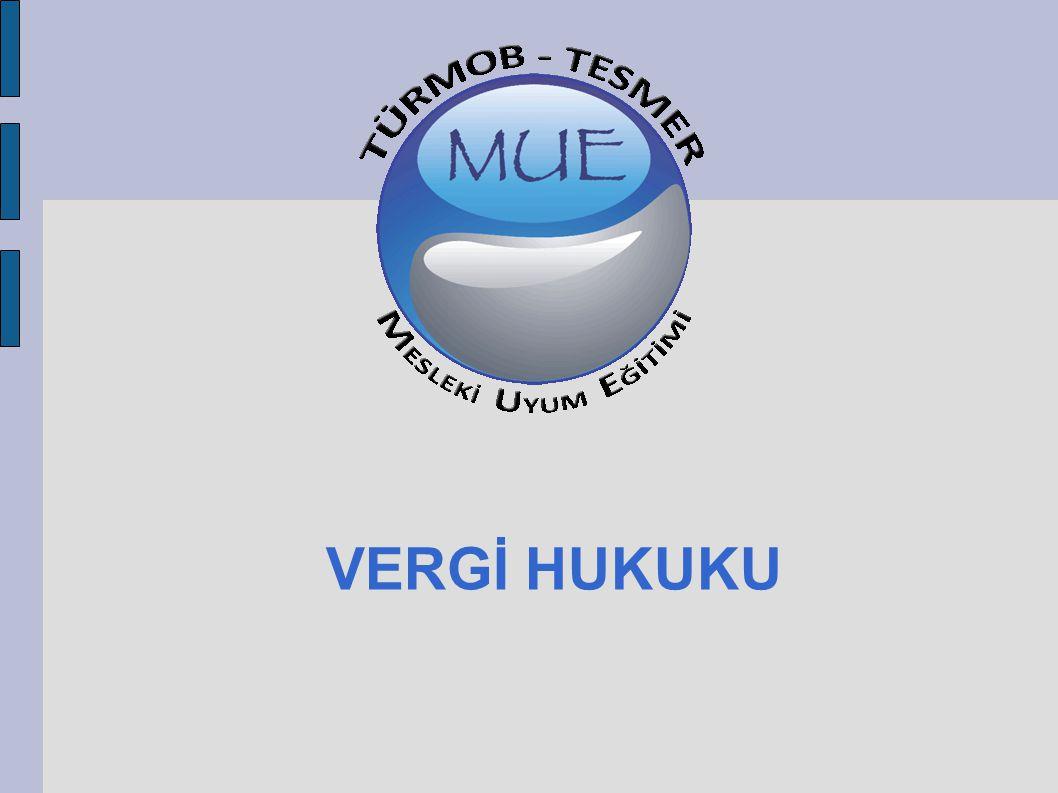 SÜRELERİN HESAPLANMASI Vergi Usul Kanunu'nun 18.