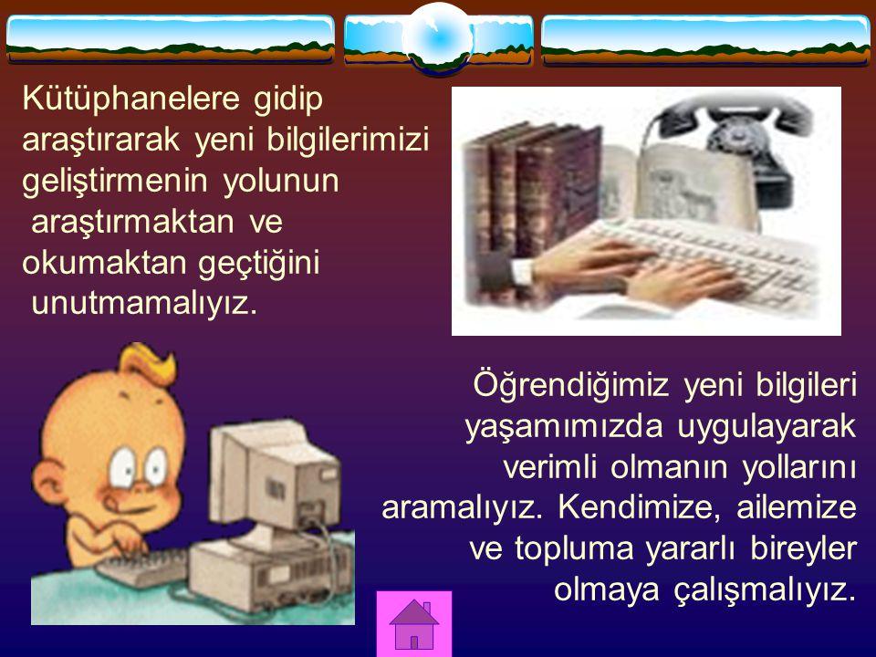 NASIL VERİMLİ OLURUZ.