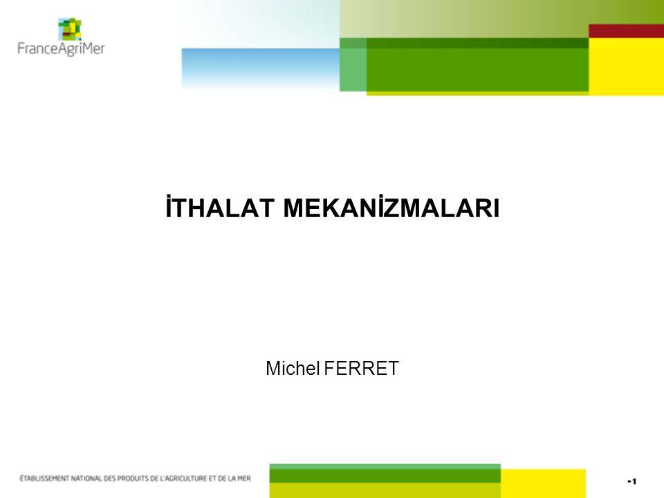 İTHALAT MEKANİZMALARI Michel FERRET