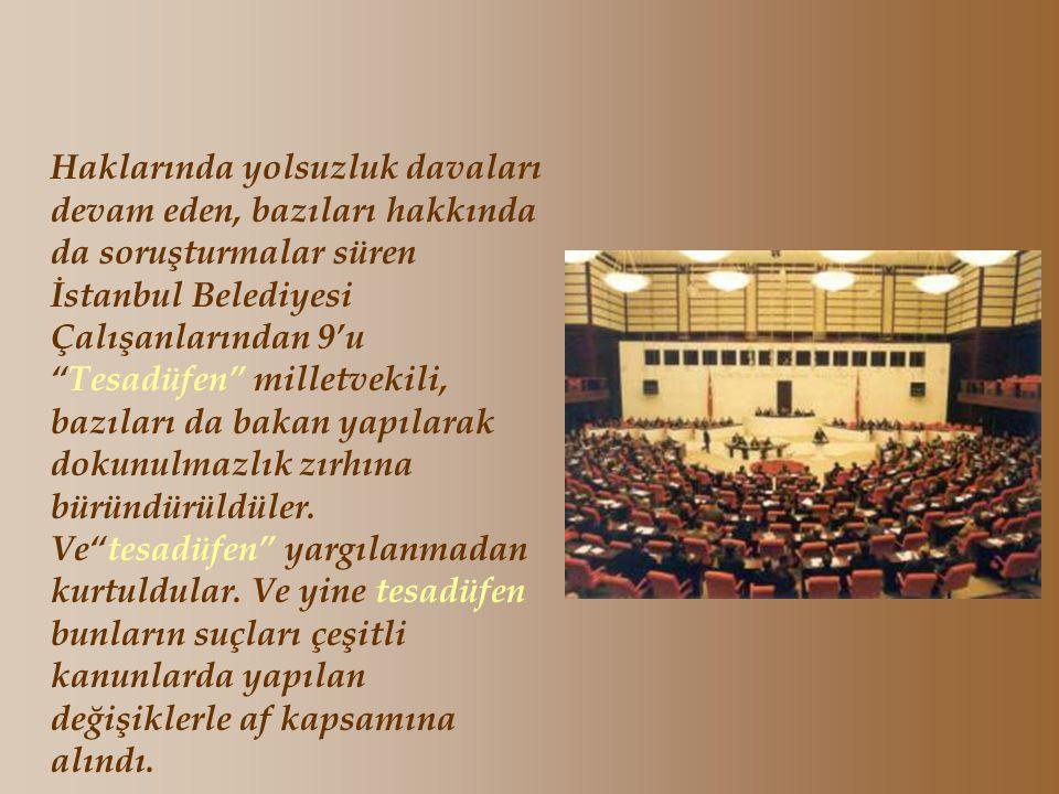 Recep Tayyip Erdoğan'ın Büyük Oğlu Burak Erdoğan'ın 11.Mayıs.1998 tarihinde arabasıyla bir zamanların ünlü sanatçısı Sevim Tanürek'i çiğneyerek öldürm