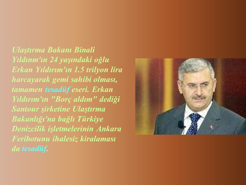 CHP'den AKP'ye geçen milletvekillerinin tamamının işadamı olması tamamen tesadüftür. CHP'den AKP'ye geçen vekillerden; Batman milletvekili Nezir Nasır