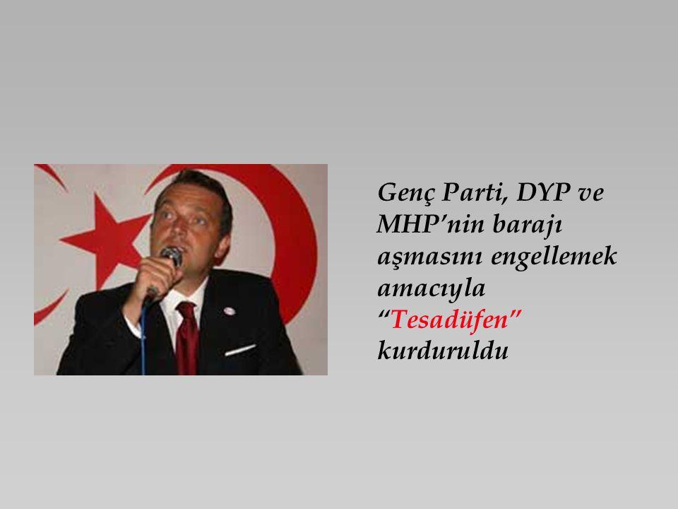 Ecevitsiz ve MHP'siz hükümet formülü Tesadüfen dile getirildi.
