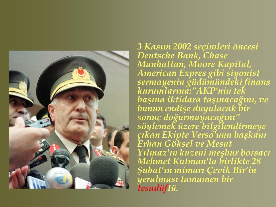 ABD ile farklı ilişkiler içerisinde olan; Cüneyt Zapsu, Ömer Çelik, Egemen Bağış, Mücahit Arslan, Mir Dengir Fırat Tesadüfen Erdoğan'ın yanına (?) yerleştirildiler..