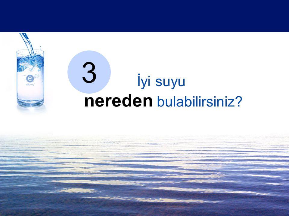 İyi suyu nereden bulabilirsiniz? 3