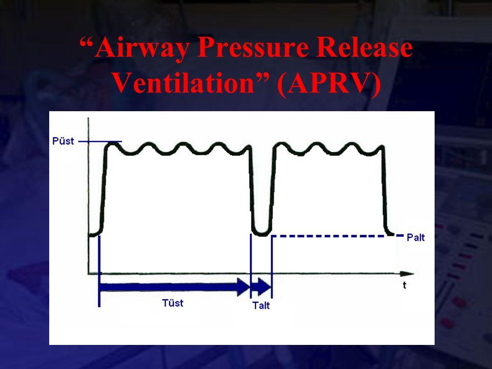 """""""Airway Pressure Release Ventilation"""" (APRV)"""