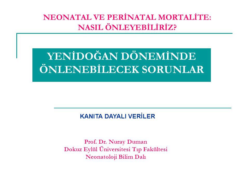 Int J Epidemiol 2010 Apr;39 Suppl 1:i134-43 18 çalışma sonucu ve uzman değerlendirmeleri ile % 4 prematüriteye bağlı % 8 enfeksiyona bağlı mortaliteyi azaltır ANTENATAL BAKIM