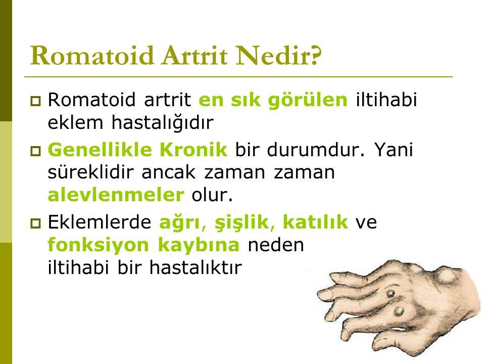 Romatoid Artrit Nedir.