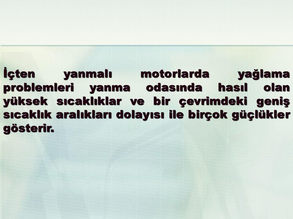 DİZEL MOTORLARI YAĞLAMA SİSTEMİ