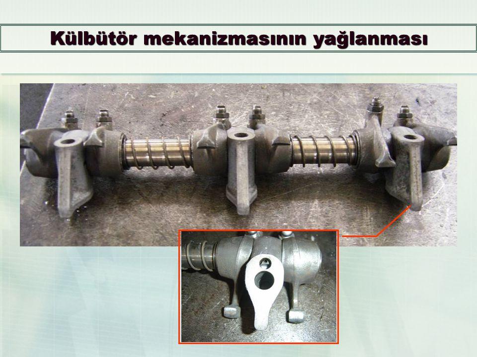 Eşanjör Giriş Subapı Eşanjör Giriş Subapı Motor yağının soğutulmaya ihtiyacı yok ise filtreye, soğutulmaya ihtiyacı var ise eşanjör giriş subapı taraf