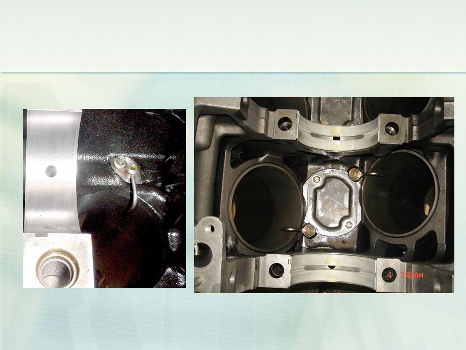 Piston soğutma jeti Piston soğutma jeti Ana yağ galerisinde olup, piston tepe altına veya piston tepesinin içine yağ püskürterek soğutmaya yardımcı ol