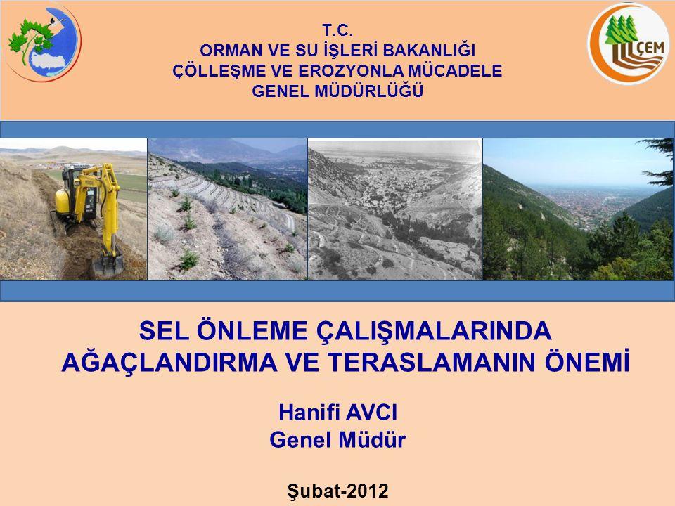 Türkiye; iklim, topoğrafya ve toprak özellikleri sebebiyle erozyon ve sel felaketine oldukça duyarlı bir yapıda bulunmaktadır.