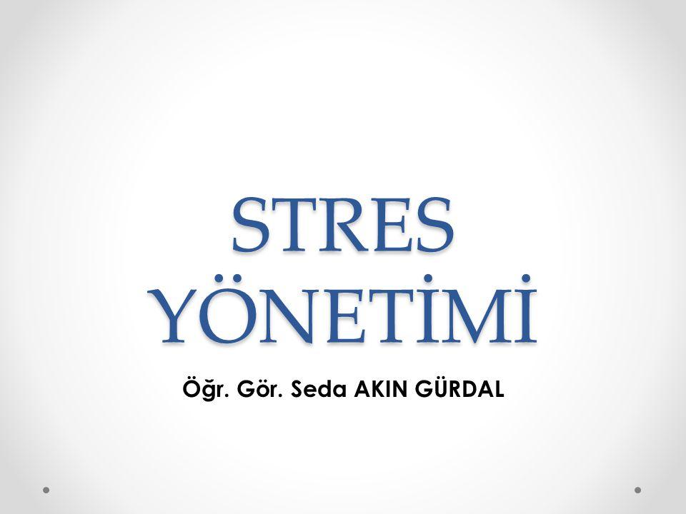 Kontrol Odağı ve Stres Kimi insanlar kendi kendilerini kontrol etme bakımından iç yönelimli, kimileri ise dış yönelimlidir.
