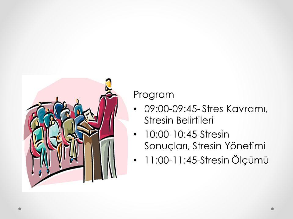 STRESİN ÖLÇÜMÜ Stresi çeşitli metodlarla ölçmek mümkündür.