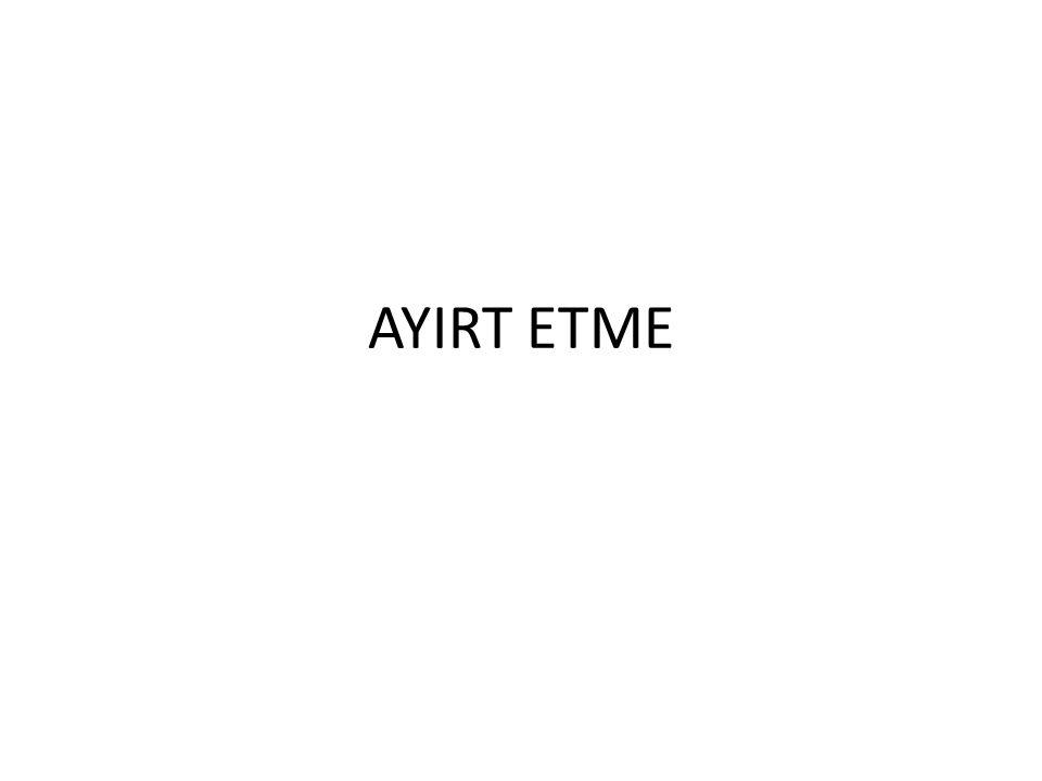 AYIRT ETME
