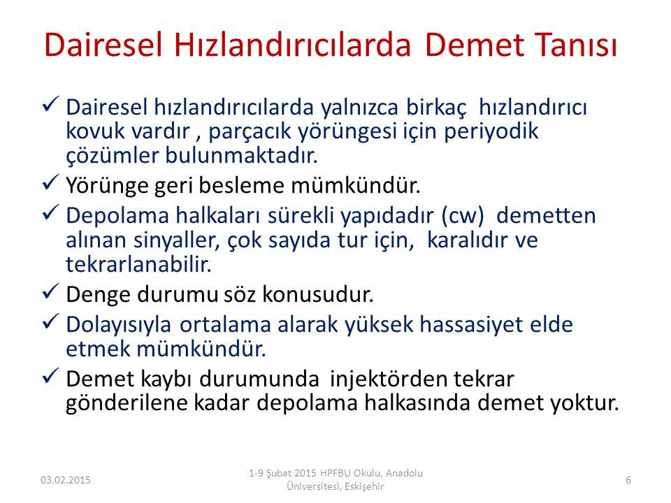 Doğruluk ve Hassasiyet 03.02.2015 1-9 Şubat 2015 HPFBU Okulu, Anadolu Üniversitesi, Eskişehir 7 Doğruluk (Accuracy ): gerçek değer ile süreç tarafından üretilmiş değerlerin ortalamsının farkıdır.