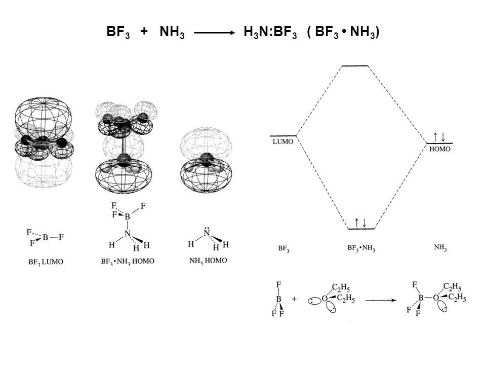 BF 3 + NH 3 H 3 N:BF 3 ( BF 3 NH 3 )