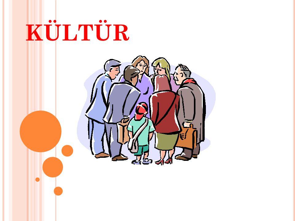 Sosyalleşme (Toplumsallaşma): Birey, içine doğduğu kültürel ortamın özellikleri ana-babasından, yakınlarından, arkadaşlarından, okuldan, sokaktan ve iş ortamından öğrenir.