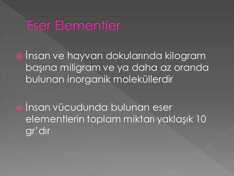  Emilen Cu Bakır-albumin,bakır-histidin kompleksleriyle KC'e taşınır.