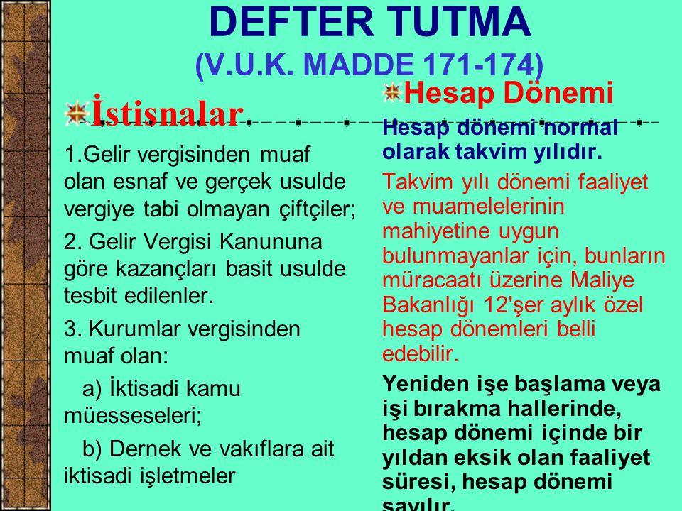 DEFTER TUTMA (T.T.K.