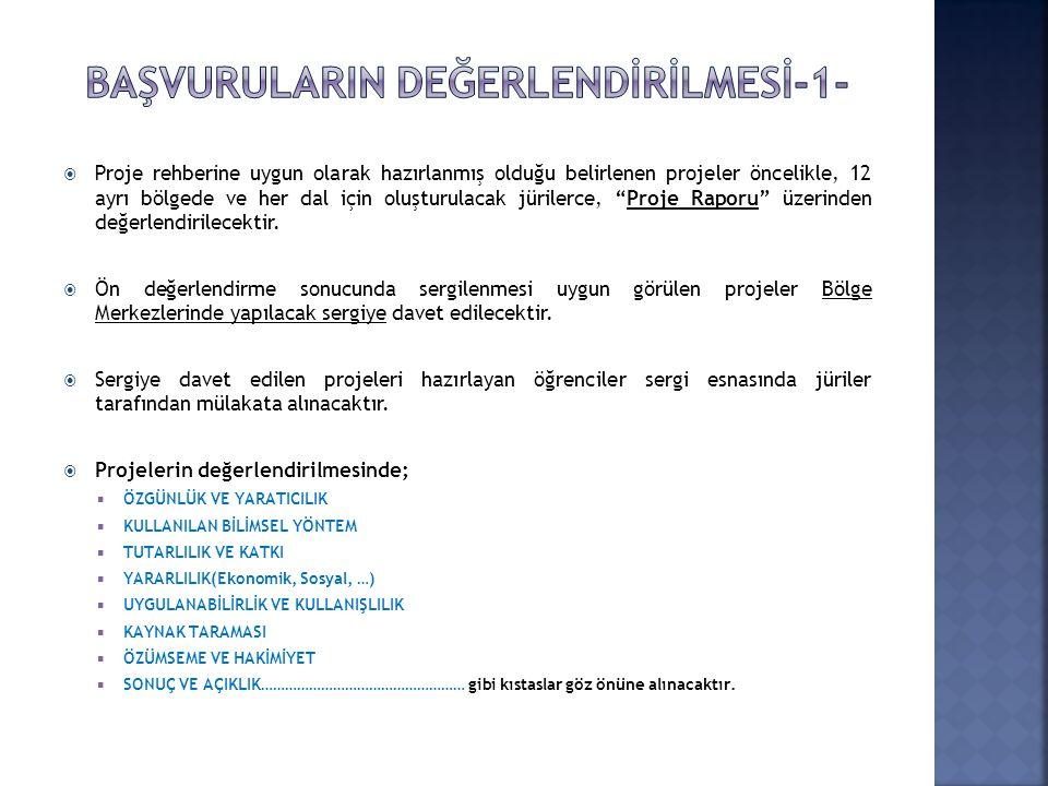  Proje başvuruları https://e-bideb.tubitak.gov.tr adresinden online olarak yapılacaktır.https://e-bideb.tubitak.gov.tr  Proje başvuruları 06 – 27 Oc