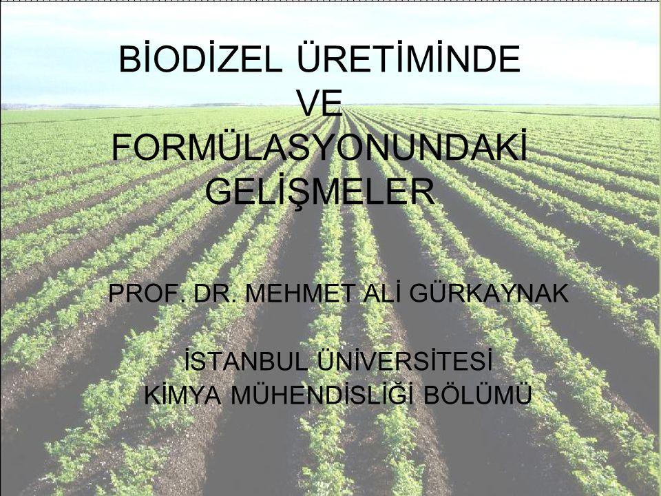 Biodizel nedir.