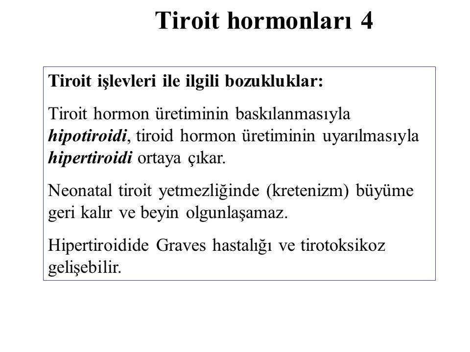 Kalsiyum ve fosfor metabolizmasını düzenleyen hormonlar Parat hormon Kalsitonin Kalsitriol (1 α,25-dihidroksikolekalsiferol)