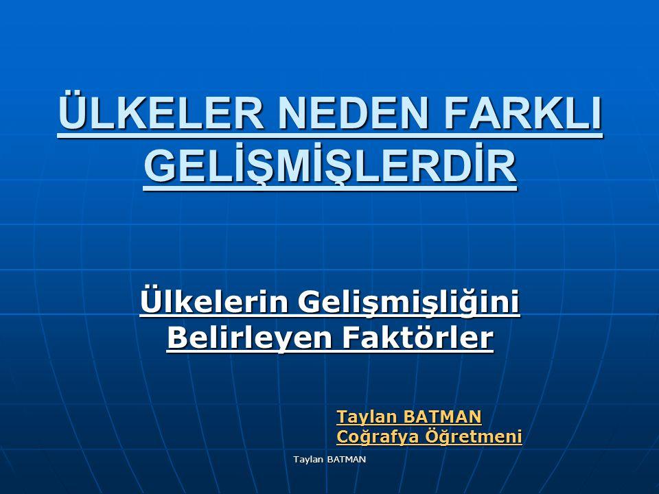 Taylan BATMAN Almanya'nın Almanya'nın İklimi Almanya da ılıman okyanus ve karasal iklim özellikleri görülür.