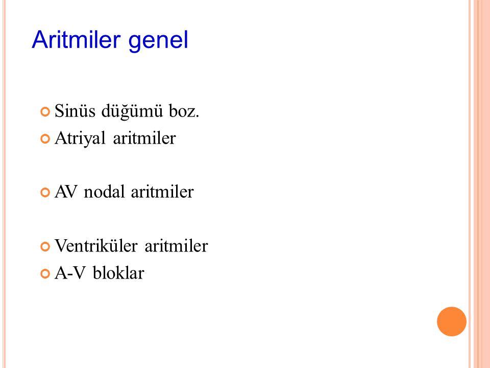 L AB. İstriahat EKG P varlığı, şekli, bloke P varmı(AFib, AFlat, P-R mesafesi(AV bloklar, WPW) QRS genişliği( dal blok, Ventriküler vuru) Tele Ekokard