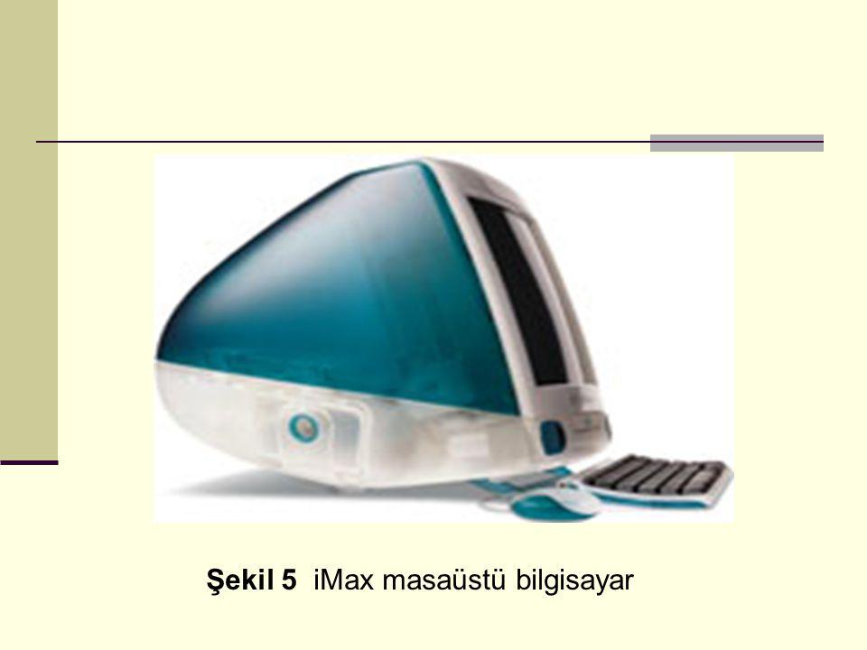 Şekil 5 iMax masaüstü bilgisayar