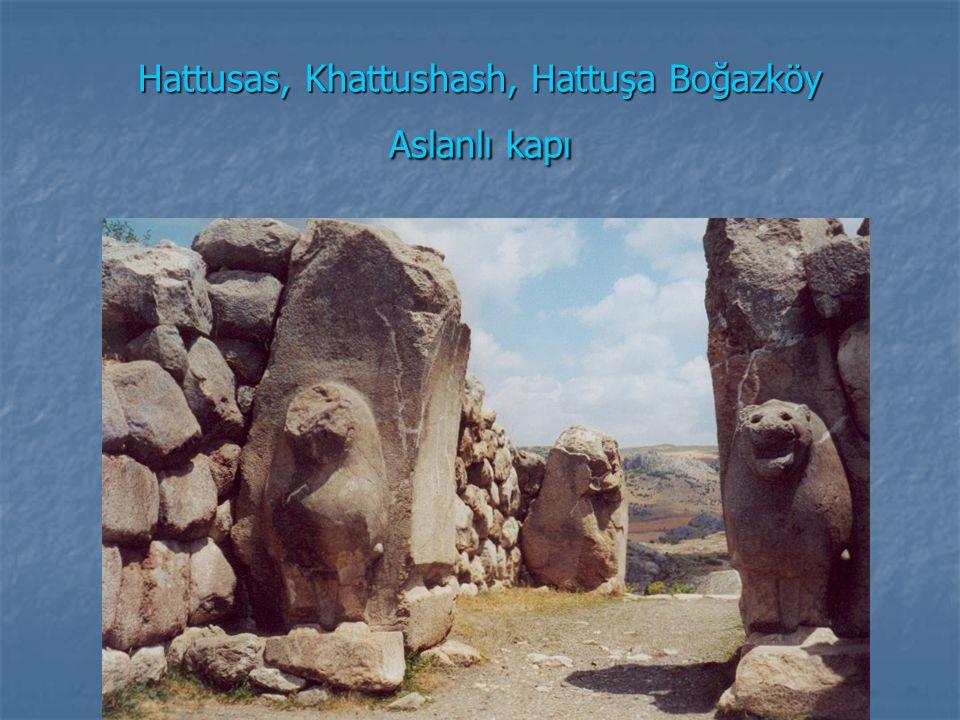 Hattusas, Khattushash, Hattuşa Boğazköy Aslanlı kapı