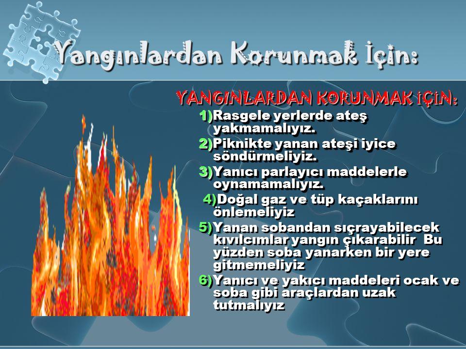 Orman yangınlarına kar ş ı alınacak önlemleri 1)Orman yangınları büyük doğal afetler arasında gösterilebilir.
