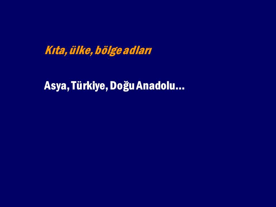 2. Soy anlamı katmak için: Osmanlılar, Selçuklular...