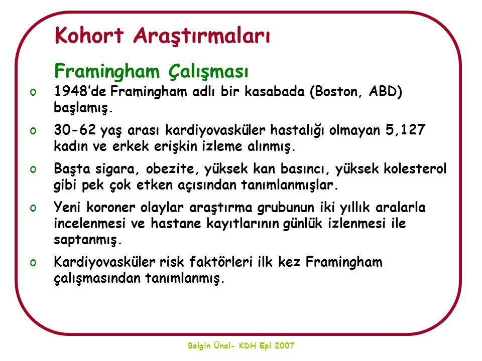 Belgin Ünal- KDH Epi 2007 Türkiye'nin Ulusal Kalp Sağlığı Politikası Nasıl Olmalıdır.